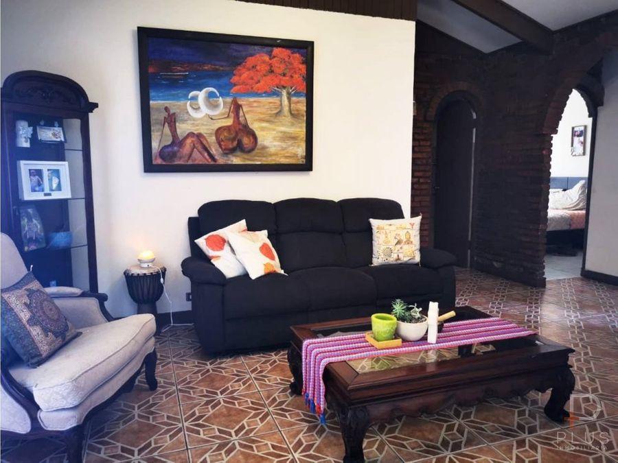 casa 1 piso residencia u oficinas venta la uruca hosp mexico jv111