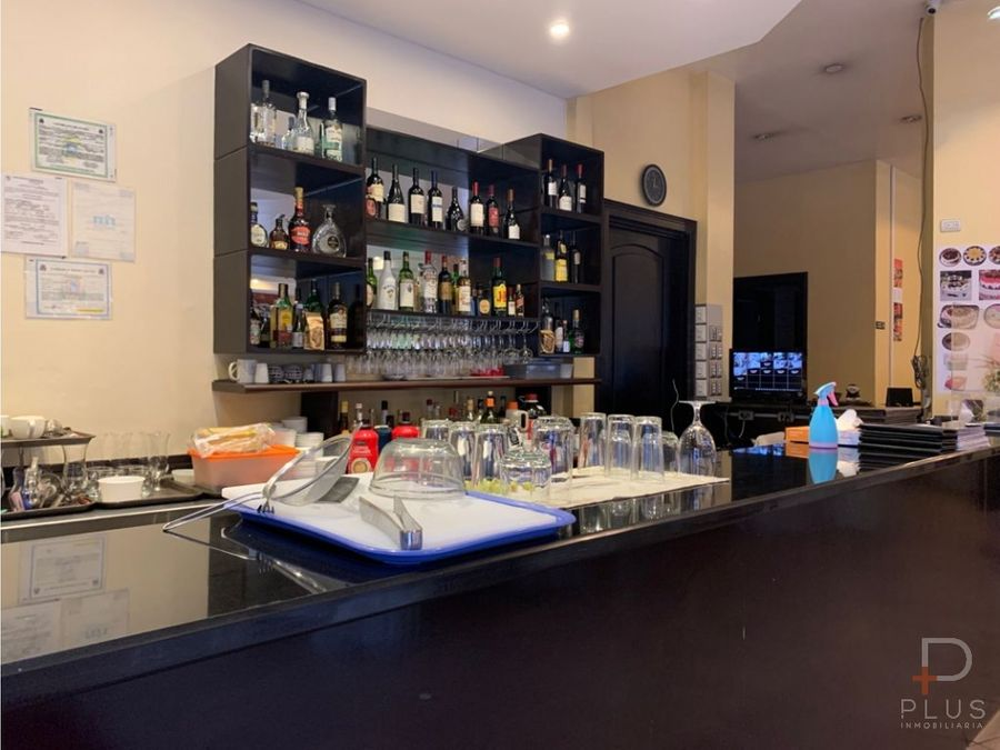 restaurante equipado venta san jose centro cod ob78