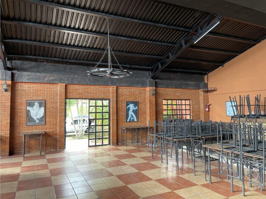 propiedad venta ideal para restaurante y sala de eventos cod jv268