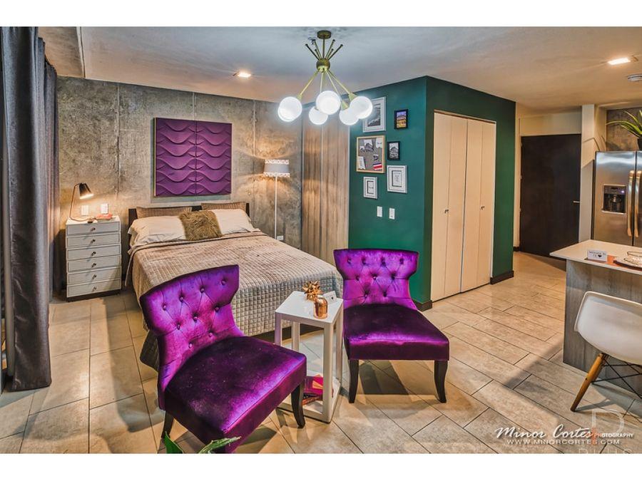 apartamento tipo estudio venta q bo skyhomes rohrmoser cod jv275