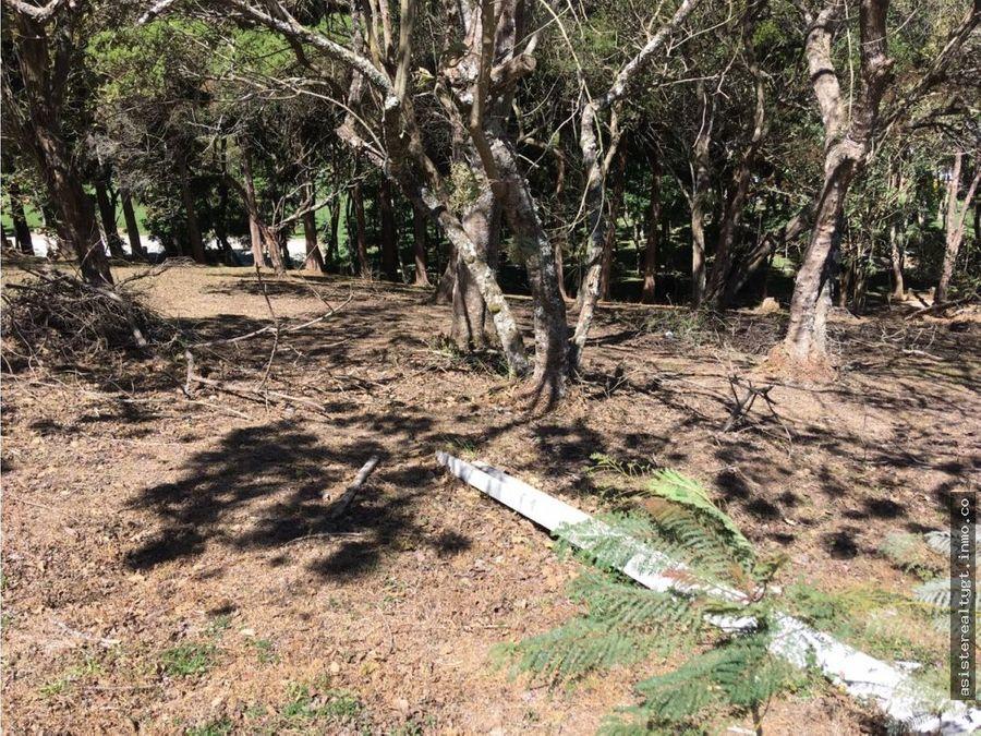 precioso terreno en cond la foresta ces en venta