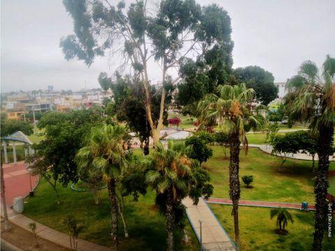 bonito duplex 501 frente a parque urb san joaquin