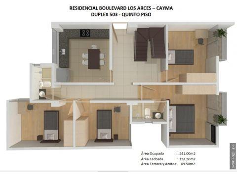 amplio y hermoso duplex en zona exclusiva de cayma