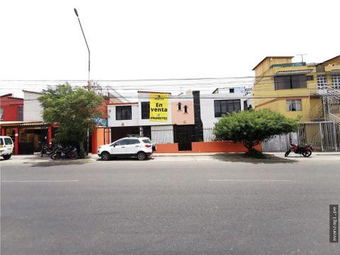 casa en excelente ubicacion con frente a av venezuela