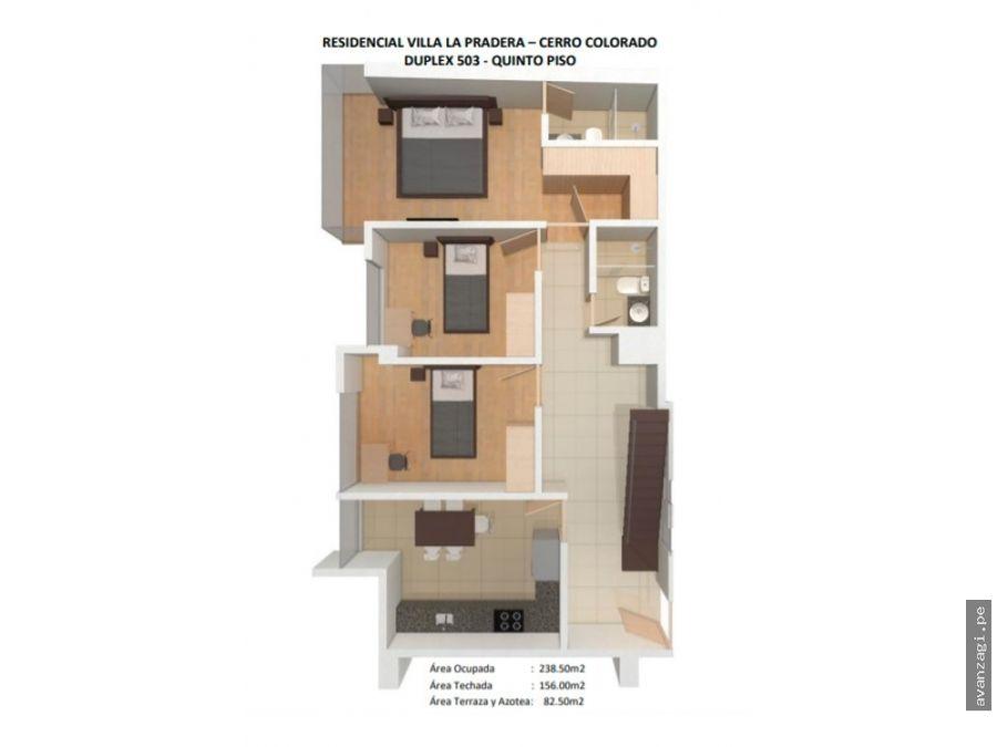hermoso duplex en proyecto urbanizacion la pradera