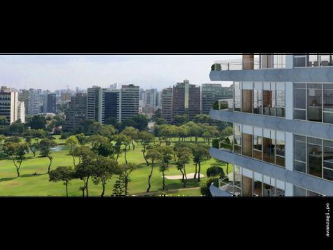 departamento con vista al golf de san isidro the fairway