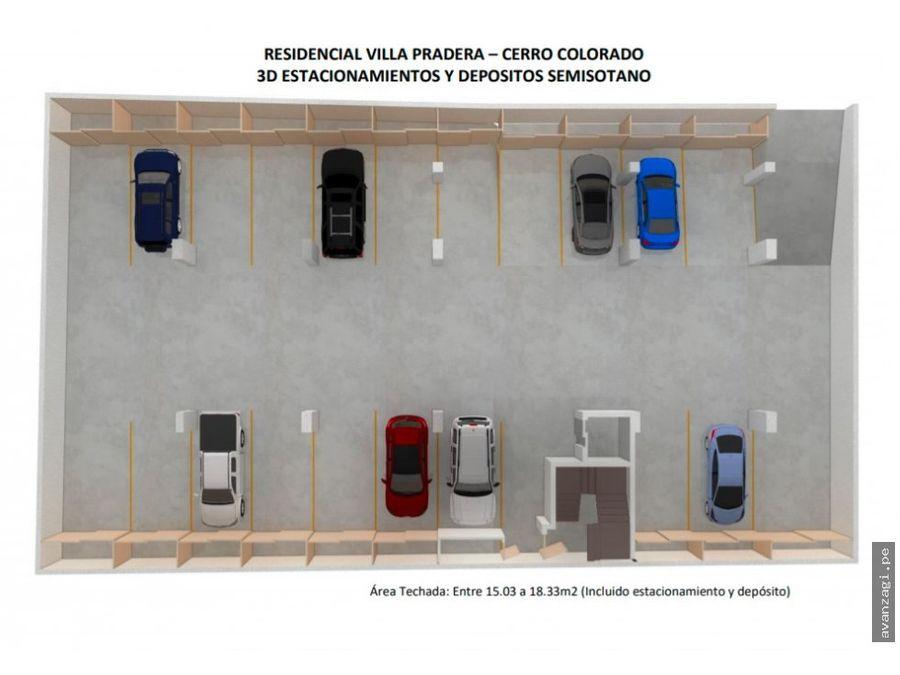 amplio departamento en proyecto urbanizacion la pradera
