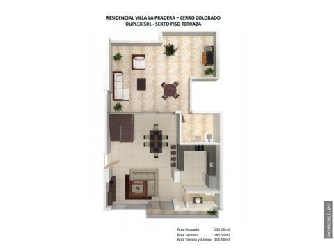 expectacular duplex en proyecto urbanizacion la pradera
