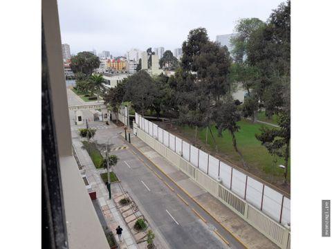 duplex vista a la calle cerca a la universidad pacifico de 3 hab