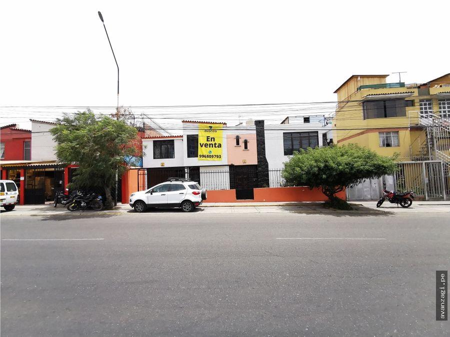 en alquiler casa en excelente ubicacion av venezuela