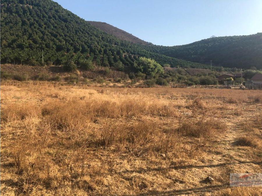 terreno 1 ha en hualcapo hijuelas