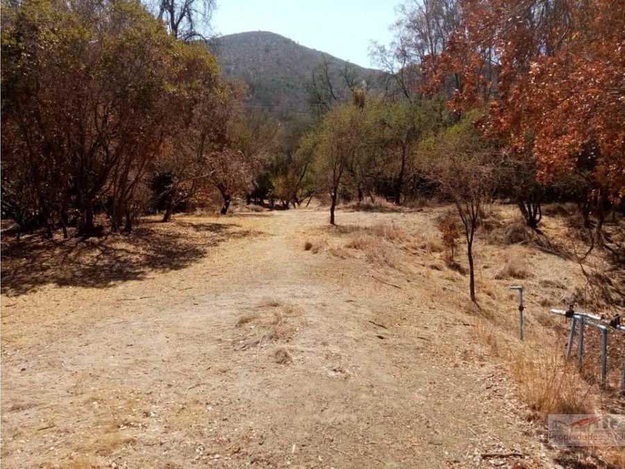 parcela 5400 mts2 oasis de la campana