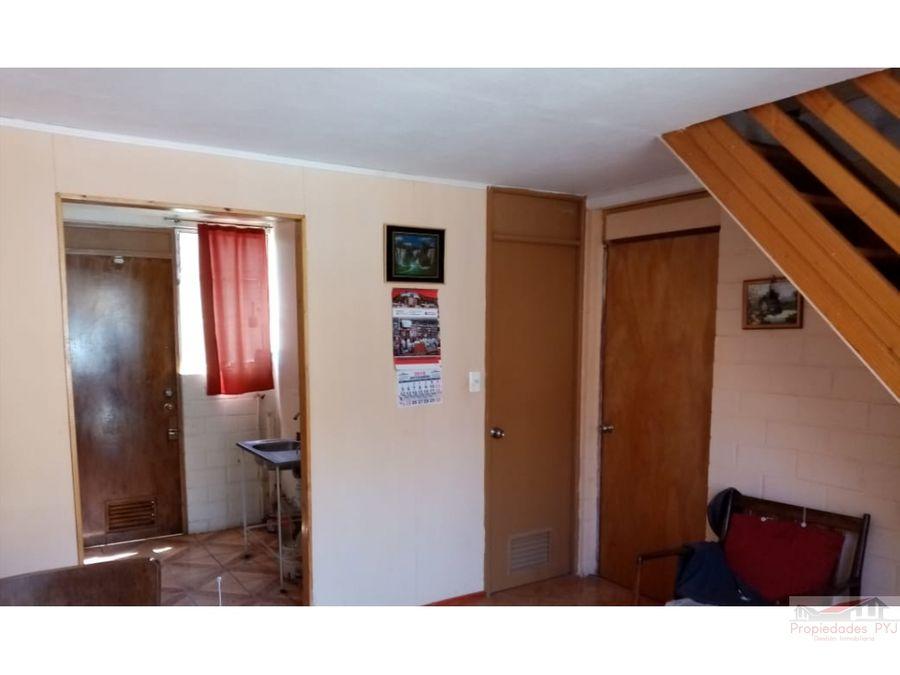 linda casa 3 habitaciones villa antumapu