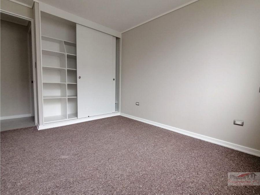 oportunidad departamento nuevo 2 habitaciones quillota