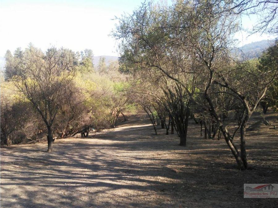 parcela 6800 m2 en oasis de la campana