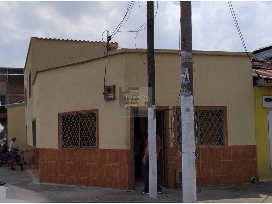 vendo casa local esquinera obrero cj