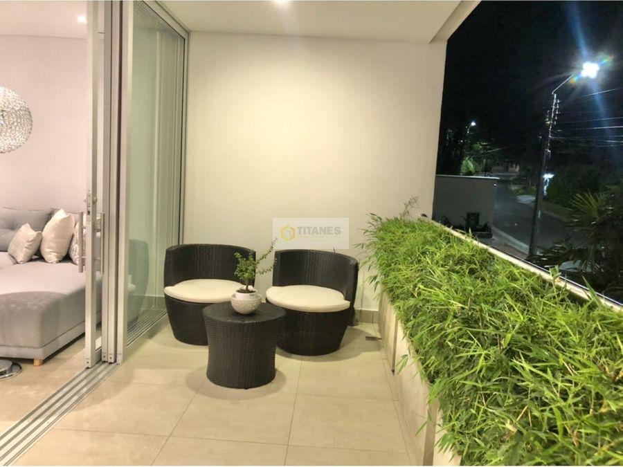 vendo lujoso apartamento en ciudad jardin sj
