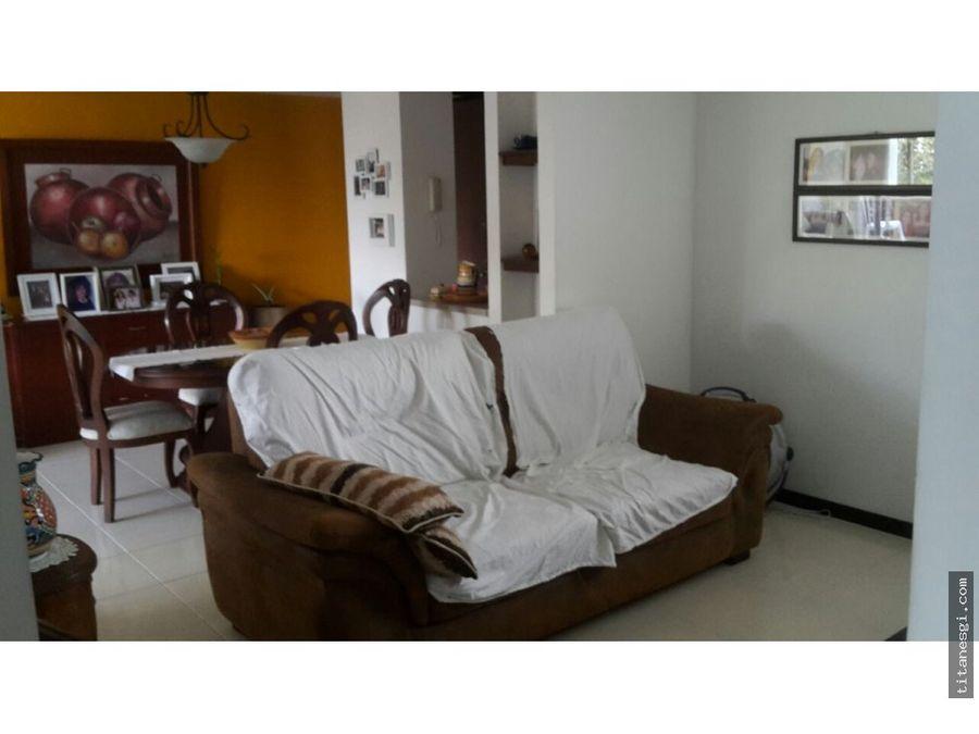 venta apartamento en la hacienda 4to piso mpj