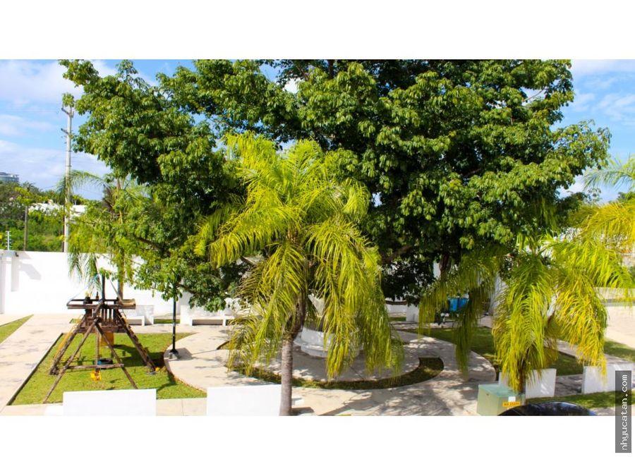 en privada a solo 5 min del city center y plaza la isla cabo norte