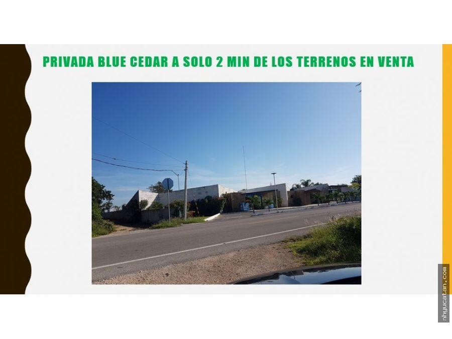 terrenos komchen a 480 pesos x m2 excelente ubicacion