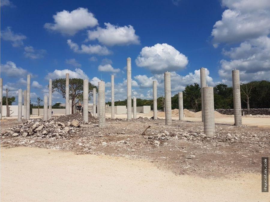 terreno yaxche sierra papacal 260 x m2