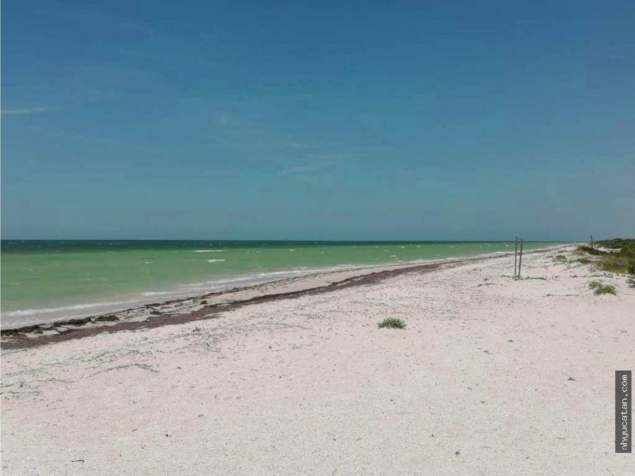 terrenos en la playa a 50 min de merida costa esmeralda de yucatan