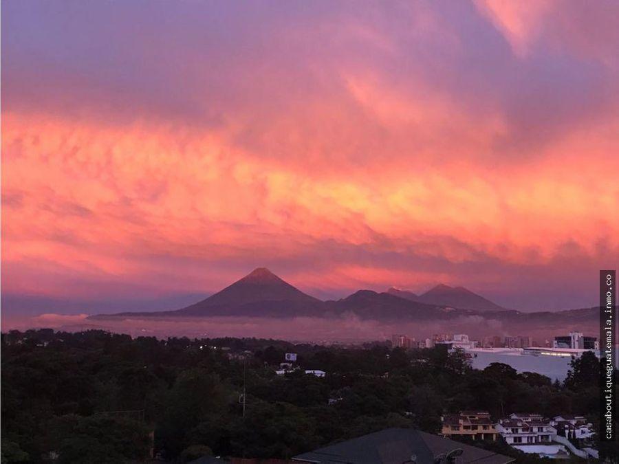 apartamento con vista a los volcanes en vh ii