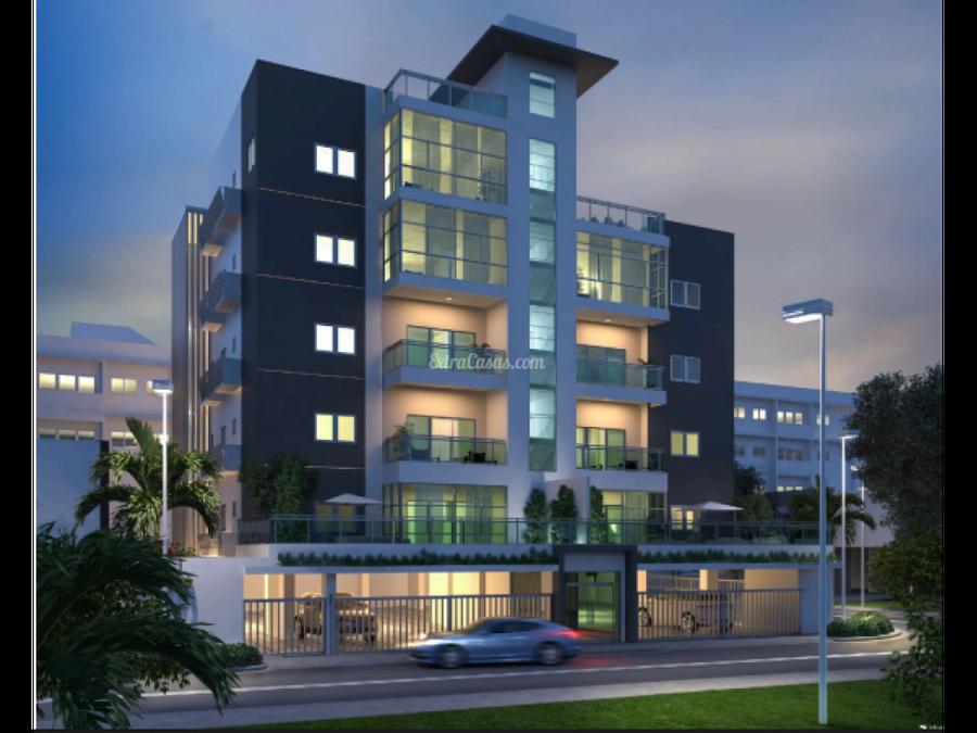 apartamento en venta con terraza en los cacicazgos