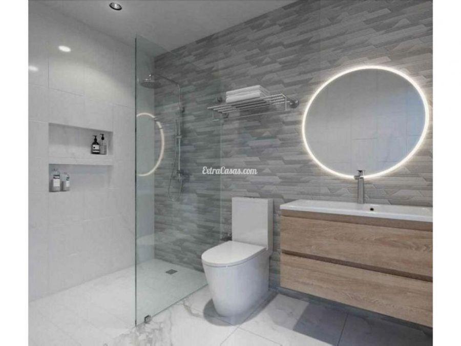 apartamento en venta de 1 habitacion en piantini