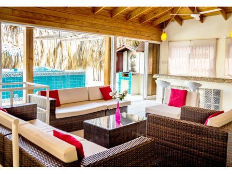 penthouse en venta amueblado en urb real