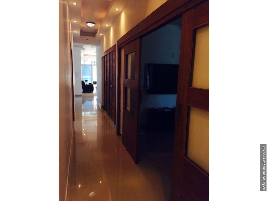 hermoso apartamento amueblado full en bella vista