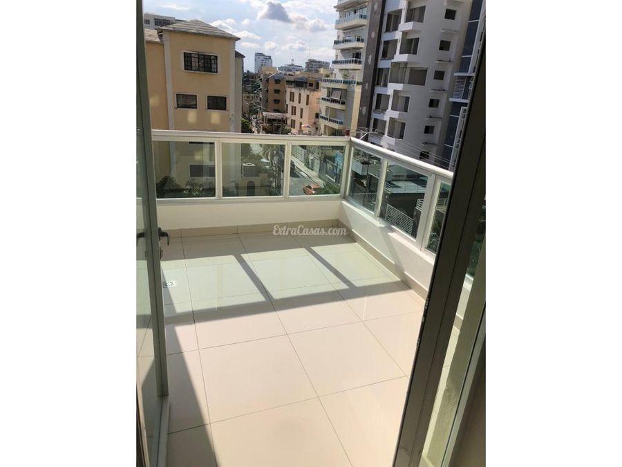 apartamento en venta con terraza en mirador norte
