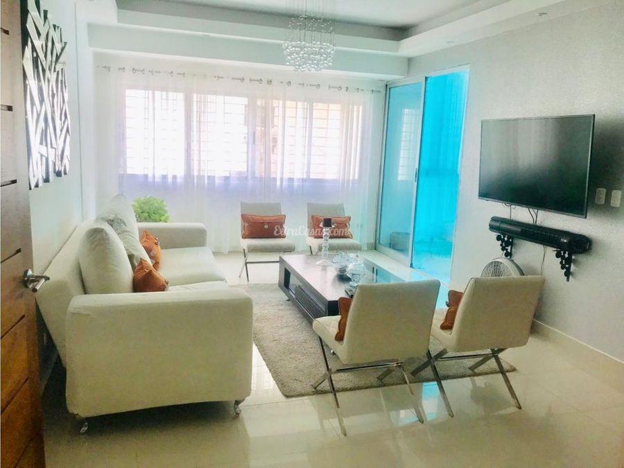 apartamento en alquiler amueblado en paraiso