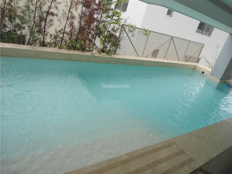 santo domingo serralles apartamento con piscina