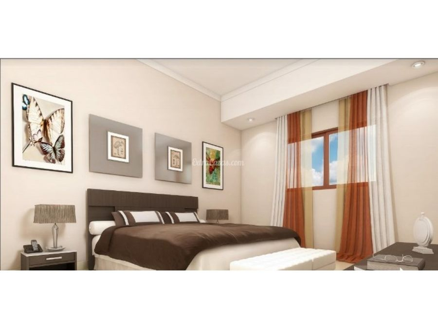 apartamento en venta con terraza en evaristo