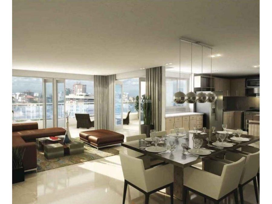 apartamento tipo loft en venta en paraiso
