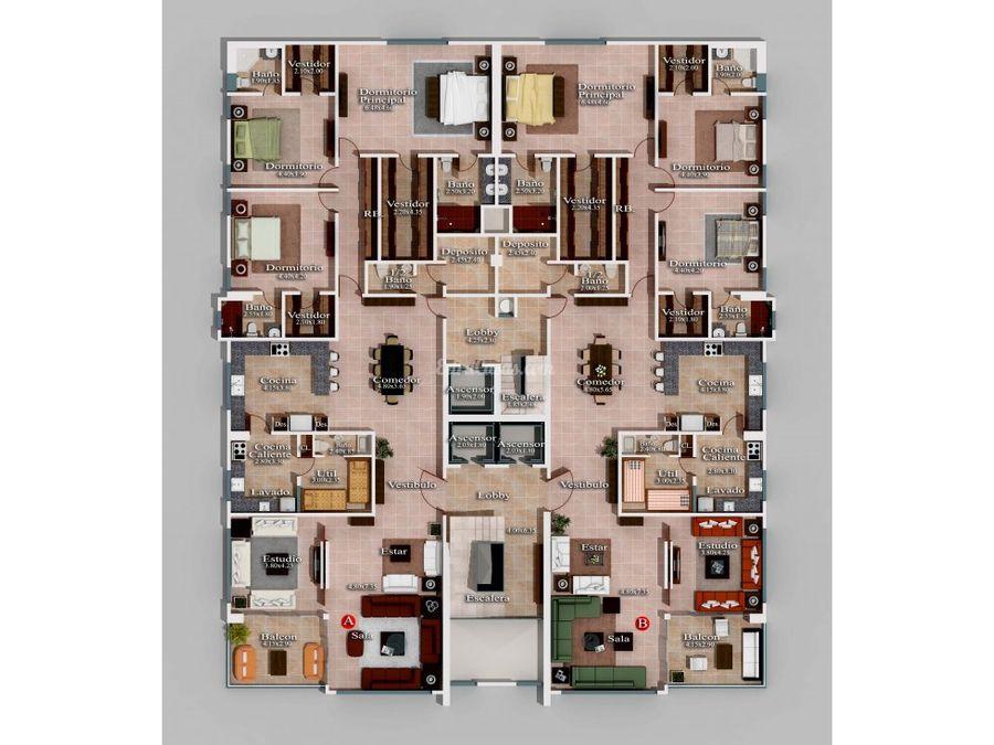 apartamentos en venta en los cacicazgos