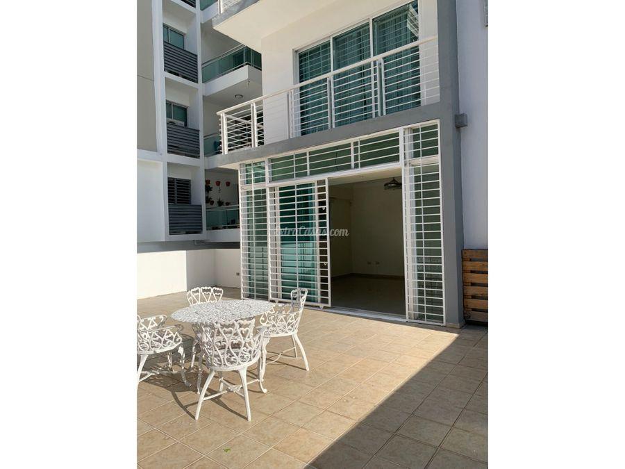 apartamento con terraza en alquiler en bella vista