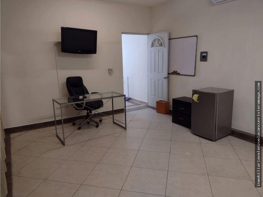oficina centrica en cancun