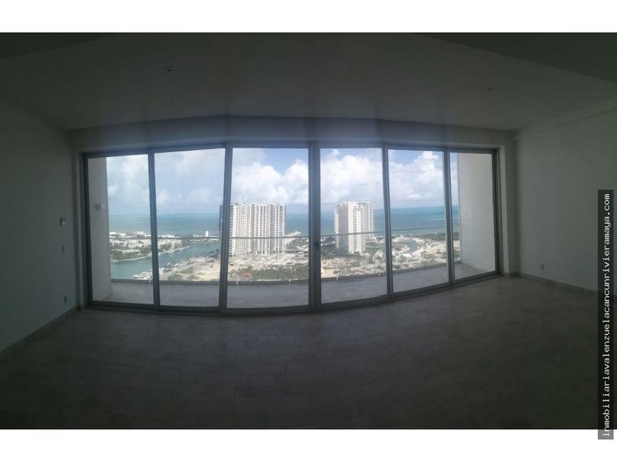 puerto cancun vista la mar