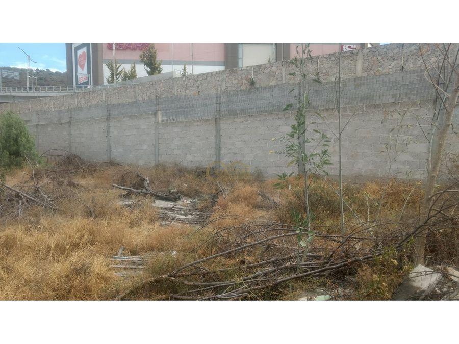 venta de terreno bardeado en col lomas chacon