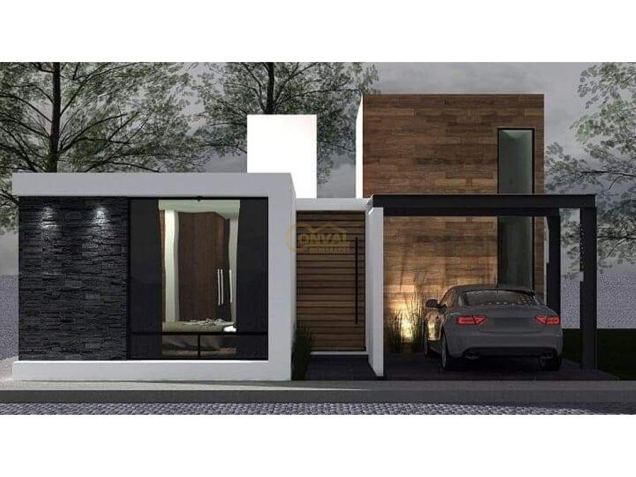 casa en venta de un solo nivel con tres recamaras