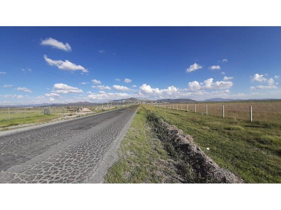 terreno en venta en carretera de acceso a tellez