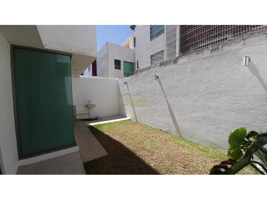 bonita casa en renta en fracc residencial arboledas de san javier