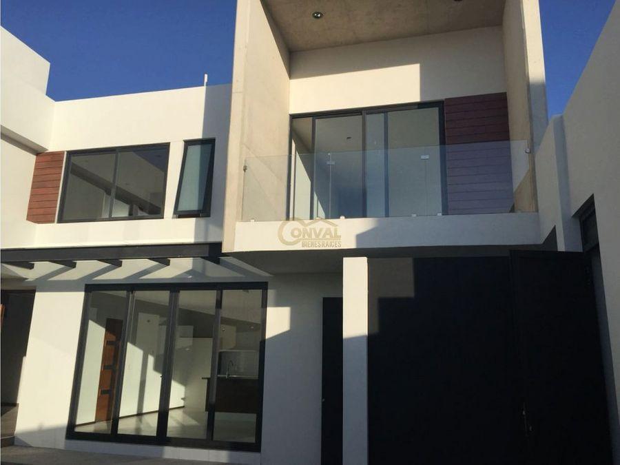 casa en renta en fraccionamiento residencial zona plateada