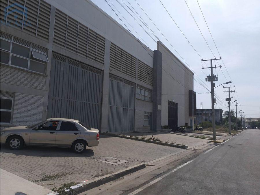 bodega en venta zona express parque industrial barranquilla