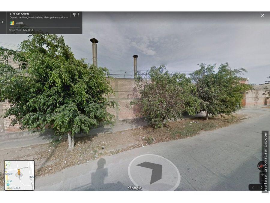 venta local industrial urb molitalia los olivos
