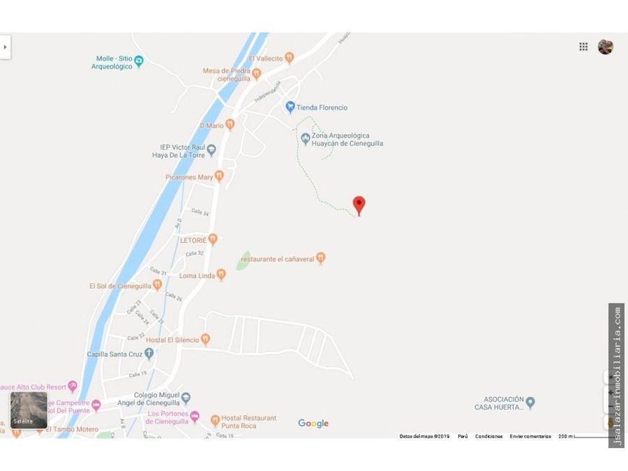 terreno 1804225 has las casuarinas cieneguilla