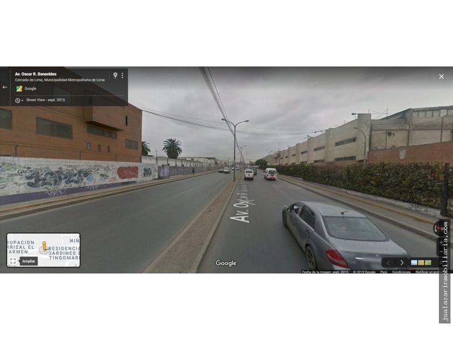 terreno urbano 20185 m2 colonial 1108 2 frentes cercado de lima
