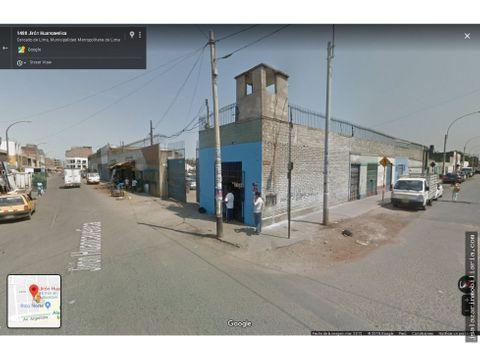terreno comercial 8637m2 jr huancavelica cercado de lima